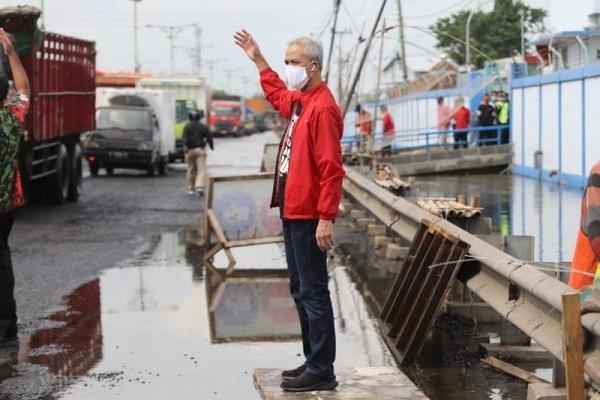 Bantuan Pemprov Jateng Digelontorkan ke Korban Rob Pantura