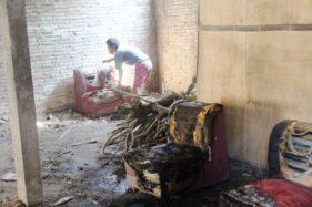 Diduga Gangguan Jiwa, Warga Sidomulyo Sragen Nyaris Bakar Rumah Sendiri
