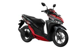 New Honda Vario 150 Sporty Black Red (Istimewa)