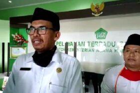 Kepala Kantor Kementerian Agama Kabupaten Madiun, Akhmad Sururi. (Abdul Jalil/Madiunpos.com)
