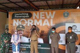 Kabupaten Ponorogo Mulai Uji Coba New Normal, Begini Konsepnya