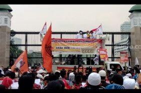 Demo PA 212 Tuntut MPR Turunkan Jokowi: Kami Bukan Makar Loh