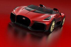 Bugatti Chiron convertible. (Detik.com)