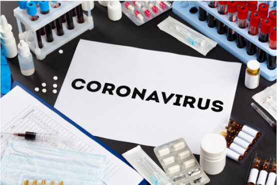 Ilustrasi virus corona (Freepik)