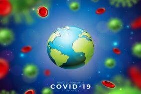 Ilustrasi penyakit virus corona (Covid-19). (Freepik)
