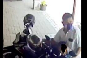 Video CCTV Pencuri Helm Sambil Bawa Anak di Sragen Viral di Medsos, Ini Kata Polisi