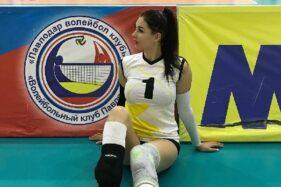 Tatyana Demyanova pevoli seksi asal Kazakstan. (Istimewa)