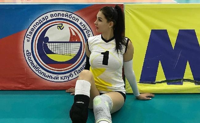 Kelewat Seksi, Atlet Voli Tatyana Demyanova Curi Perhatian Netizen