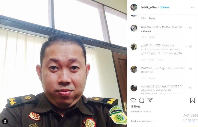 Pamer Kemewahan, Fedrik Adhar Jaksa Kasus Novel Bakal Diperiksa Komjak
