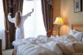 Ilustrasi hotel bintang lima. (Freepik)
