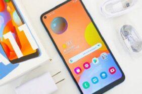 Samsung Galaxy A11. (Istimewa)