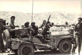 Pasukan Israel di Semenanjung Sinai saat berperang melawan Mesir, Juni 1967. (WIkipedia.org)