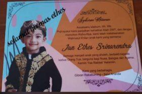 Beredar Kabar Jan Ethes Cucu Presiden Jokowi Dikhitan