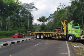 Rem Blong, Truk Tronton Tabrak Tukang Batu hingga Meninggal di Jalan Lingkar Salatiga