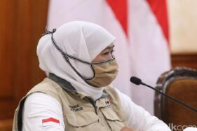 Gubernur Jawa Timur, Khofifah Indar Parawansa. (Detik.com)