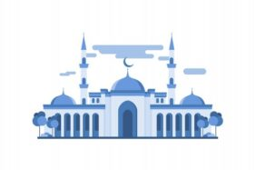 Ilustrasi masjid. (Freepik)