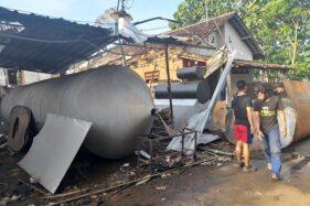 Mesin Pengolah Limbah Plastik Meledak di Karanganom, Suara & Getarannya Terdengar Radius 2 Km
