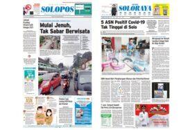 Harian Umum Solopos edisi Selasa (2/6/2020).