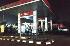 Pengendara Mobil Tabrak Mesin Pompa di SPBU Bhayangkara Solo Tertangkap