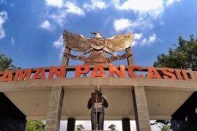 Taman Pancasila Karanganyar. (Facebook)