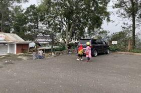 Objek wisata Grojogan Sewu di Tawangmangu, Karanganyar, tutup, Senin (1/6/2020). (Solopos/Candra Mantovani)