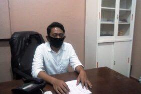 Anggota Komisioner KPU Grobogan Ngatiman. (Solopos.com-Arif Fajar Setiadi)