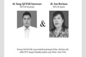 Dokter Kakak Adik Semarang Meninggal, IDI Minta Tes Rutin Covid-19
