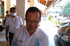 Penampilan baru Achmad Purnomo, Wakil Wali Kota Solom Sabtu (18/7/2020). (Solopos/Akhmad Ludiyanto)