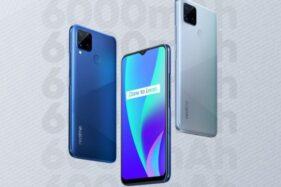 Smartphone Realme C15. (Istimewa)