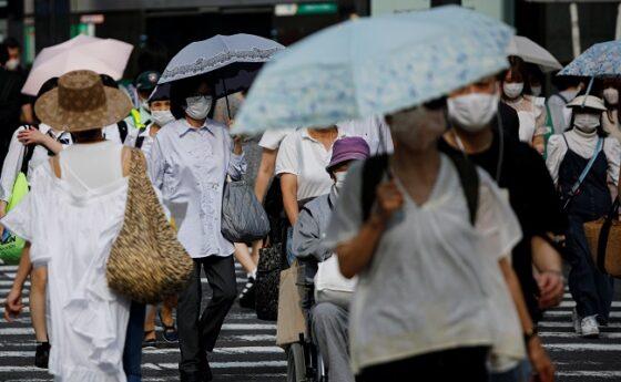 Kondisi Tokyo, Jepang, pada 20 Juli 2020 setelah pandemi virus corona Covid-19 mereda.  (Reuters/Issei Kato)