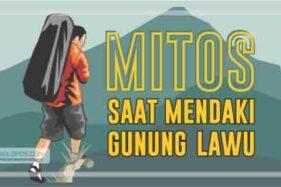 Penting Buat Pendaki, Ini Mitos di Gunung lawu