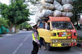 Truk Bermuatan Melebihi Batas Kena Operasi Patuh di Grobogan