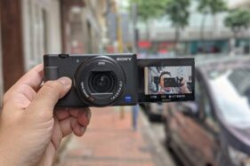 Sony ZV-1. (Forbes/Ben Sin)