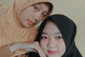 Dita Leni Ravia dan ibunya. (Detik.com)