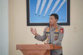 Kapolri, Jenderal Polisi Idham Azis, saat berkunjung di wilayah Madiun, Jumat (10/7/2020). (Istimewa/Pemkot Madiun)