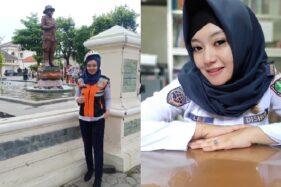 Hijaber cantik pegawai Dishub Solo, Lili Rachmawati, 31. (Istimewa)