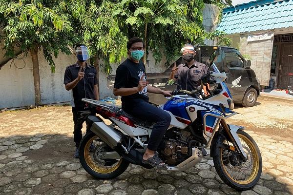 Dibanderol Rp585 Juta, Honda Africa Twin Varian Tertinggi Terjual di Jawa Tengah
