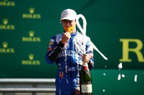 Pembalap McLaren Lando Norris (REUTERS)
