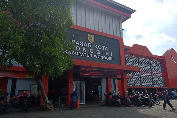 Pengumuman! Pasar Kota Wonogiri Bakal Ditutup Sepekan