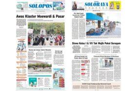 Solopos Hari Ini: Awas Klaster Moewardi & Pasar