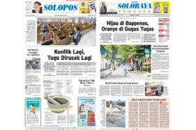 Solopos Hari Ini: Konflik Lagi, Tugu Dirusak Lagi