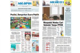 Harian Umum Solopos edisi Selasa (7/7/2020).