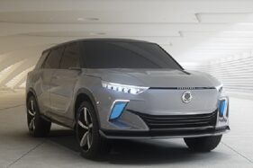Konsep Mobil listrik SsangYong Motor e-SIV. (Istimewa)
