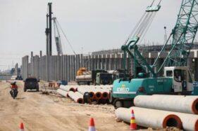 Proyek jalan tol Semarang-Demak, Rabu (1/7/2020)