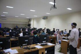Pelaksanaan UTBK ISI Surakarta (Istimewa)