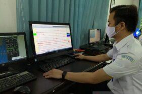 Kepala Stasiun Geofisika BMKG Banjarnegara Setyoajie Prayoedhie. (ANTARA/Wuryanti PS)