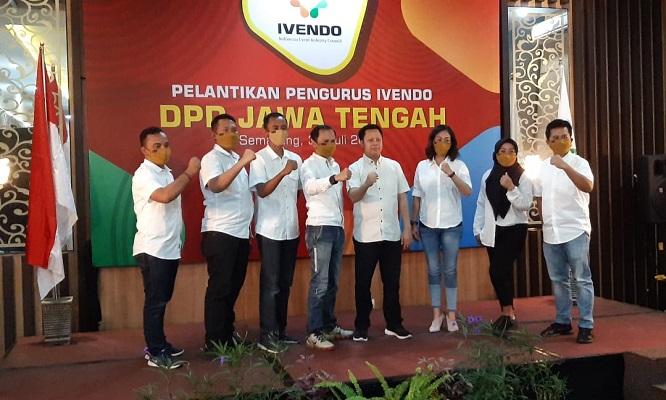 Lantik Pengurus, Ivendo Jateng Atur Siasat Gelar Event di Tengah Pandemi