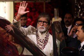 Aktor Legend Bollywood Amitabh Bachchan Positif Covid-19