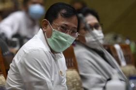Menteri Kesehatan Terawan Agus Putranto. (Antara Foto-Puspa Perwitasari/hp).