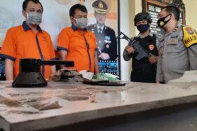 Komplotan Pembobol Brankas Gudang Madiun Dibekuk Polisi, 1 Pelaku Buron